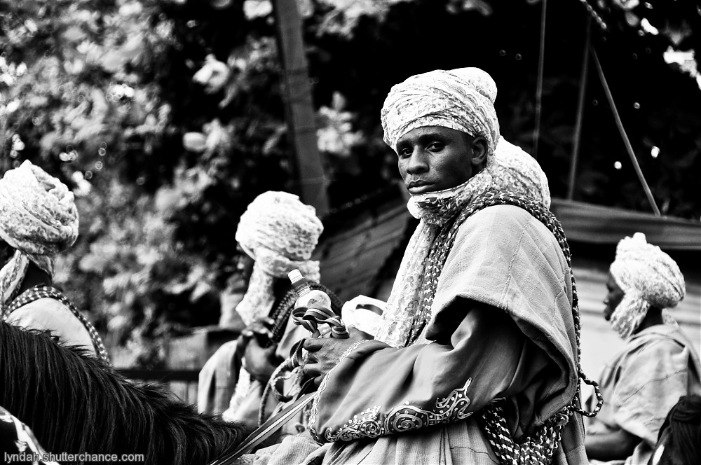photoblog image The Horse Rider - Lagos Series
